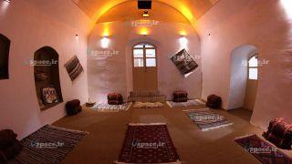 نمای داخلی اتاق های اقامتگاه حلوان