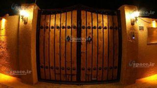درب ورودی اقامتگاه حلوان