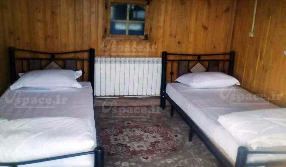 نمای داخلی کلبههای هتل نارنجستان
