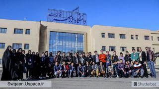 عکس دستهجمعی شرکتکنندگان در اولین بوتکمپ استارتاپی قاینات، 18 آذر 95